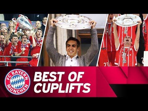 Best of - Philipp Lahm's Trophy Lifts 🏆 | #DankePhilipp