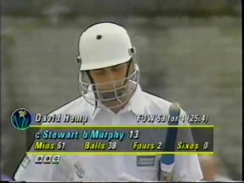 Glamorgan V Surrey County Cricket match  1994