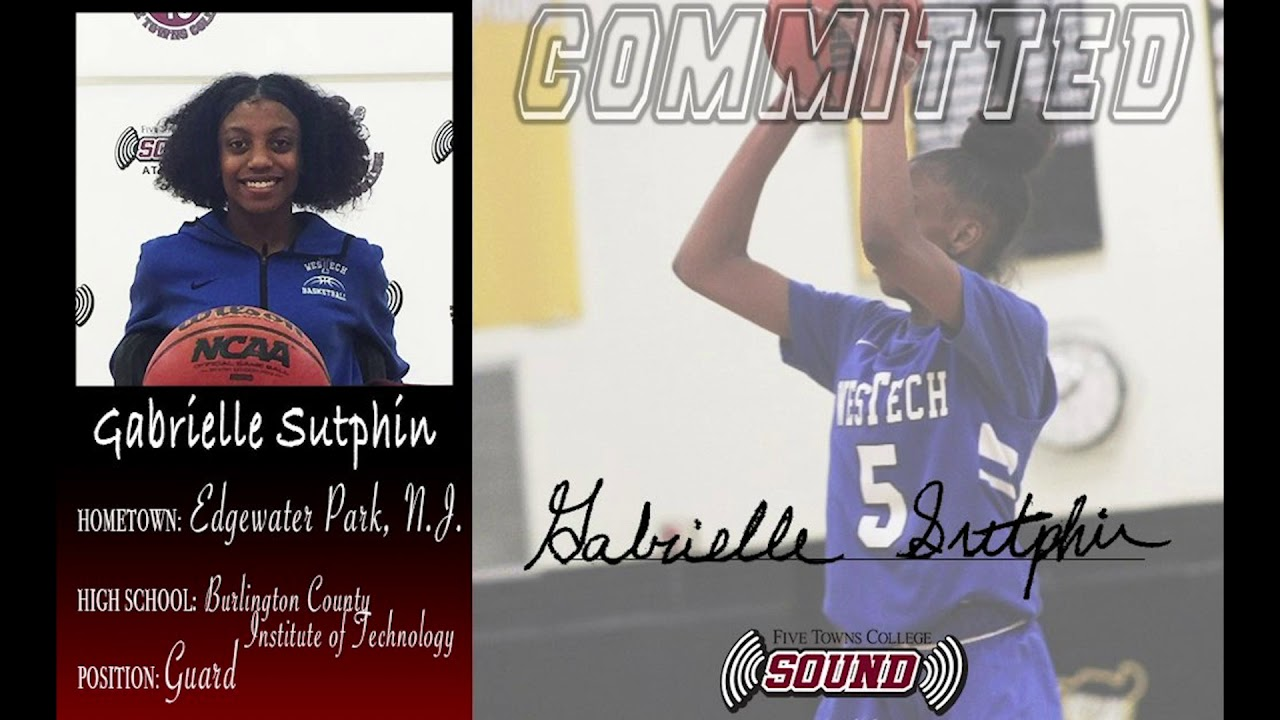 FTC Women's BASKETBALL RECRUITS GABRIELLE SUTPHIN