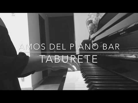 Amos del piano bar - Taburete cover | Sara Courdless