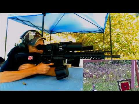 Tennis Ball Tag with Chris B  with my HM Defense and ATN corp scope