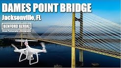 Dames Point Bridge | Jacksonville Florida | DRONE Aerial Video