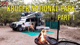 Kruger National Park: Part 1  Punda Maria, Shingwedzi and Tsendze (EP19)