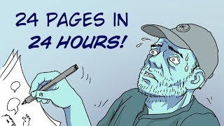 The 24 Hour Comic Challenge!