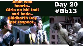 #BigBoss13 Asim won hearts| siddharth Dey lost respect|Girls crossed limits..