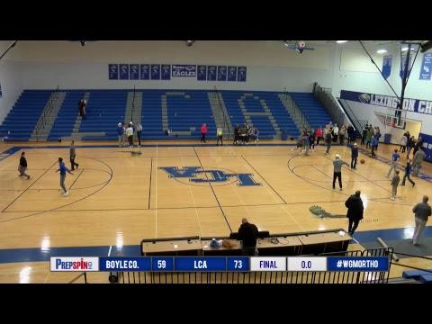 Boyle County at LCA - Boys HS Basketball