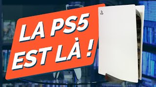 🔥 PLAYSTATION 5 : UNBOXING et DÉCOUVERTE ! MANETTE, TAILLE, POIDS, CONNECTIQUE... PS5 4K 60 FPS !
