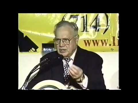 Ted Gunderson speech before his murder