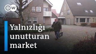 Hollanda'da yalnız insanlar için market - DW Türkçe