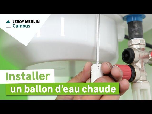 Lm vid os salle de bains leroy merlin - Comment fonctionne un ballon d eau chaude ...