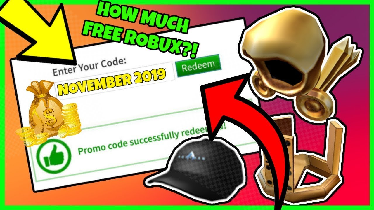 Unlimited Free Robux In November November 2019