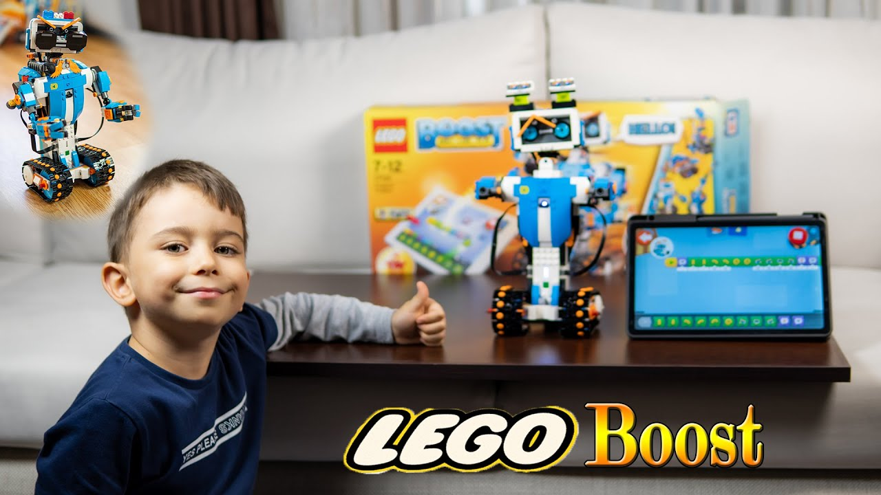 LEGO BOOST 17101 Robot Vernie / Detaylı inceleme