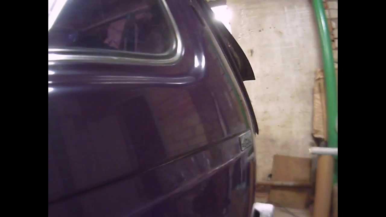 Просадка шпатлевки на авто фундамент, гидроизоляция