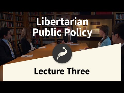 3. Education | Libertarian Public Policy with Jeffrey Miron