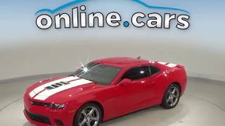 A10678GP Used 2015 Chevrolet Camaro Red Test Drive, Review, For Sale