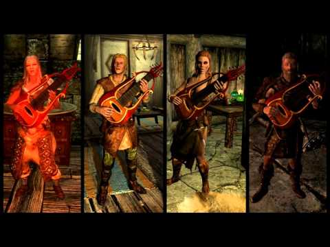 Skyrim - Tale of the Tongues Bard Quartet