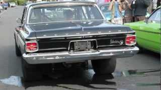 Blown 63 Plymouth Belvedere Burnout