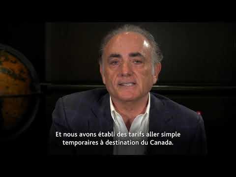 Air Canada: un message de notre président et chef de la direction, Calin Rovinescu