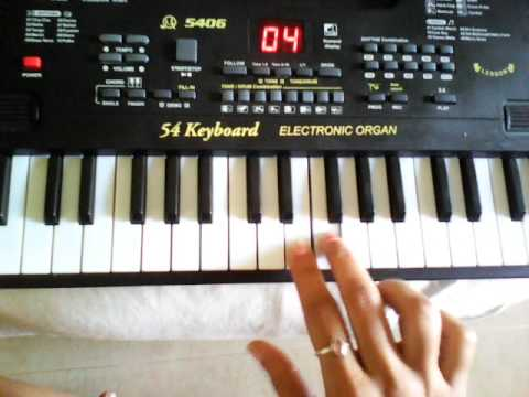 Aa leke chalu tujko ek ase desh me on keyboard