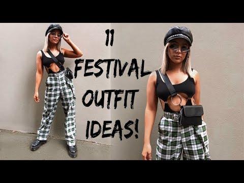 FESTIVAL LOOKBOOK | 11 OUTFIT IDEAS