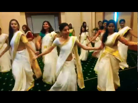 Jimikki kammal Dance Performance- Team Trident Cochin