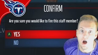 TITANS FIRE MIKE MULARKEY!  - Madden 17 Titans Connected Franchise #22