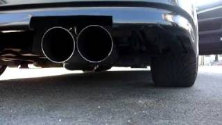 1jz gte exhaust sound dual pipe jzx110 トヨタマーク2 爆音 直管 デュアルマフラー