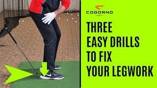 GOLF: Three Easy Drills To Fix Your Legwork