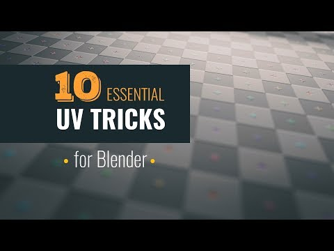 10 Essential UV Tips and Tricks | Blender Tutorial