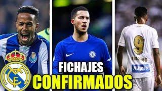 LOS FICHAJES CONFIRMADOS DEL NUEVO REAL MADRID 2019/20 | ¿QUIENES SON?