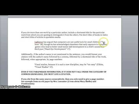 how to integrate and cite quotes
