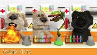 Говорящая Собака Бен Видео для Детей - Talking Ben Gameplay    Milana Plays