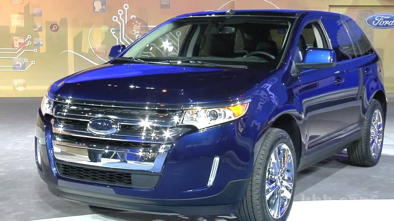 2017 Ford Edge Auto Show Video Kelley Blue Book