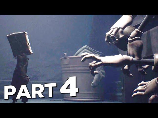 LITTLE NIGHTMARES 2 Walkthrough Gameplay Part 4 - HAND MONSTER (FULL GAME)