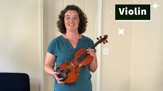 Instrument Beginnings: Learn to Play Violin
