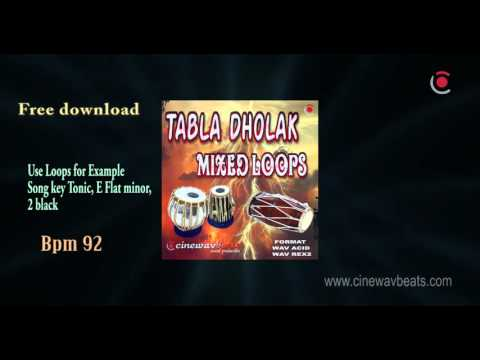 free tabla dholak loops 100% royalty FREE