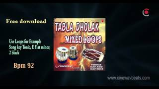 free indian tabla dholak loops downlod