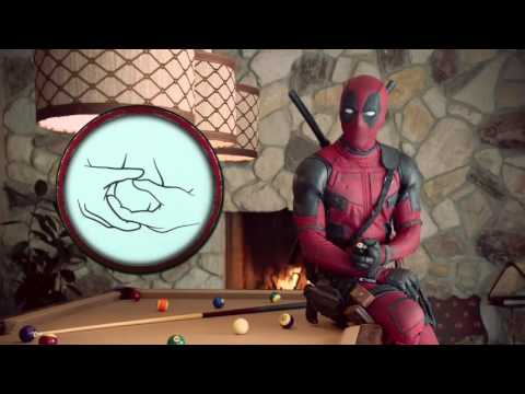 DEADPOOL gives sexual health advice to men....