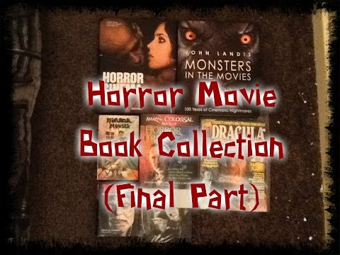 Book Zone: Horror Movie Book Collection (Final Part)