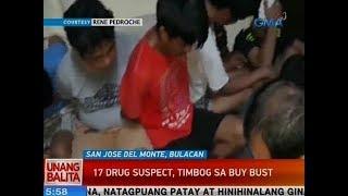 UB: 17 drug suspect, timbog sa buy-bust sa SJDM, Bulacan