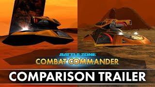 Battlezone: Combat Commander - Comparison Trailer