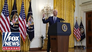 Biden answers press questions in first news conference