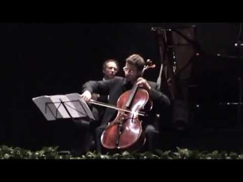 Beethoven: Sonata Op.5 No 2 - Danilo Squitieri, cello; Vincenzo Oliva, piano