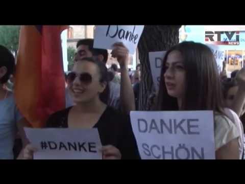 Армения благодарит Германию за признание геноцида