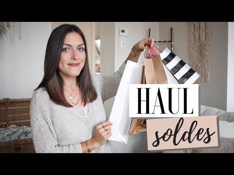 Haul SOLDES - Mango, Sephora, H&M, The Kooples, Sezane..