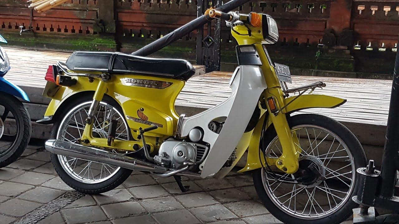 Motor Klasik Honda Super Cup 700 Tahun 82 Mulus