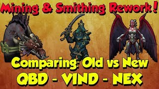 New Boss Drop Tables! Are they still good? [Runescape 3] Mining & Smithing Rework!