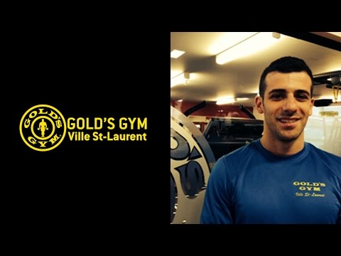 Fastest man at Gold's Gym Ville St-Laurent - Montreal Gym - Fitness Center