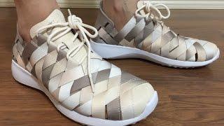 promo code 4e981 e9411 Nike Women s Juvenate Woven PRM Phantom Pearl White unbox and on feet review