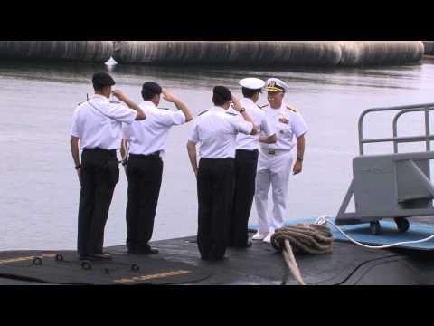 Chilean Submarine Carrera Arrives at Naval Base Point Loma - video produced by MC3 Chris Farrington